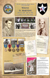 Wayne N. Martens - ADM Alumni KIA Memorial